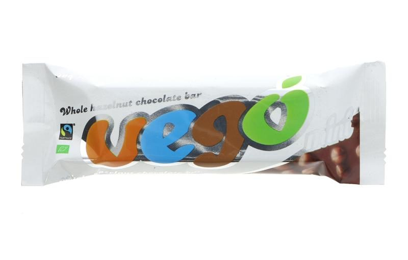 VEGO Whole Hazel Chocolate Bar