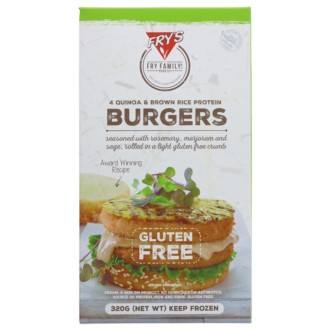 FRYS RICE & QUINOA BURGER