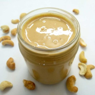 Healthy Delicious Natural Cashew Butter