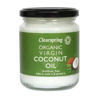 Clearspring Organic Coconut Oil 200g