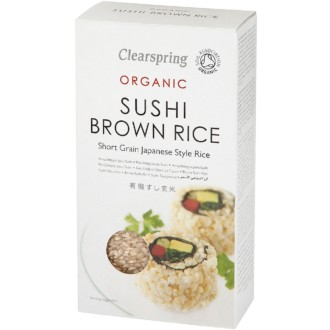 cs org brown sushi rice